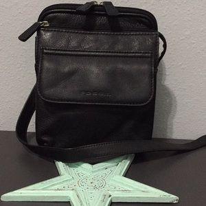 🌸Fossil Leather Crossbody